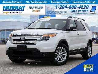 Used 2015 Ford Explorer XLT *Rear View Camera, Bluetooth, Heated Seats* for sale in Winnipeg, MB