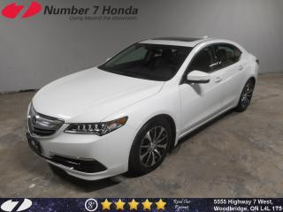 Used 2015 Acura TLX Tech| Auto-Start| Leather| Navi| for sale in Woodbridge, ON