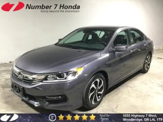 Used 2017 Honda Accord EX-L| Leather| Sunroof| Backup Cam| for sale in Woodbridge, ON