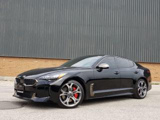 Used 2018 Kia Stinger GT LIMITED    RED LEATHER   HEADS UP DISP AND MORE for sale in Etobicoke, ON