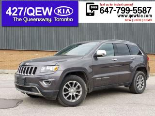 Used 2016 Jeep Grand Cherokee Limited 4x4 | Leather | Power Liftgate | Pwr Seat for sale in Etobicoke, ON