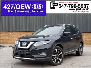 Used 2017 Nissan Rogue SL Platinum | Leather | Lane Assist | Bose Sound for sale in Etobicoke, ON