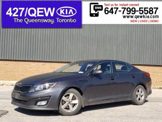 Used 2015 Kia Optima LX | HEATED SEAT | CRUISE | BLUETOOTH | POWER SEAT for sale in Etobicoke, ON