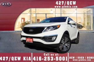 Used 2015 Kia Sportage EX Luxury | Navigation | Ventilated Seat | Leather for sale in Etobicoke, ON