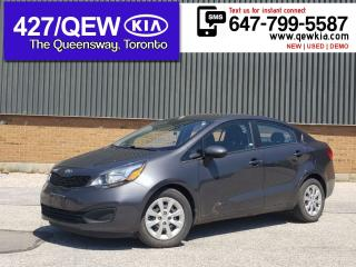 Used 2015 Kia Rio LX+ | HEATED SEAT | CRUISE | BLUETOOTH | AC for sale in Etobicoke, ON