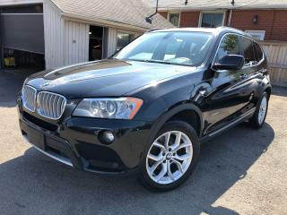 Used 2013 BMW X3 28i*PANORAMIC ROOF*AWD*NAVI for sale in Hamilton, ON