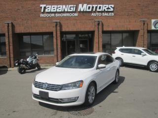 Used 2014 Volkswagen Passat HIGHLINE NO ACCIDENTS NAVIGATION REAR CAM SUROOF BT for sale in Mississauga, ON