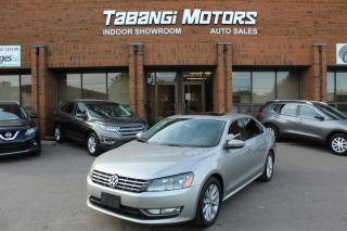 Used 2012 Volkswagen Passat HIGHLINE NO ACCIDENTS LEATHER SUNROOF HEATED SEATS BT for sale in Mississauga, ON