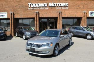 Used 2012 Volkswagen Passat HIGHLINE NAVIGATION SPORT LEATHER SUNROOF BT for sale in Mississauga, ON