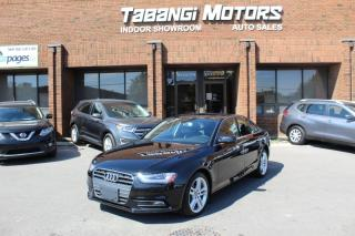 Used 2014 Audi A4 TECHNIK NAVIGATION REARCAM LEATHER SUNROOF BT for sale in Mississauga, ON