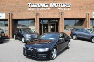 Used 2015 Audi A4 PROGRESSIVE S-LINE W/SPORT NO ACCIDENTS NAVIGATION REAR CAM for sale in Mississauga, ON
