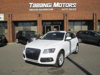 Used 2013 Audi Q5 NO ACCIDENTS   LEATHER   SUNROOF   HEATED SEATS   BT for sale in Mississauga, ON
