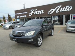 Used 2008 Lexus RX 350 4WD . NAVIGATION , BACKUP CAMERA for sale in Scarborough, ON