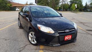 Used 2013 Ford Focus 4DR SDN SE for sale in Mississauga, ON