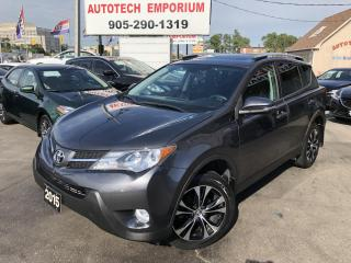 Used 2015 Toyota RAV4 XLE NAVIGATION/Sunroof/CAMERA/HEATED SEATS/BLUETOOTH/ALLOYS for sale in Mississauga, ON