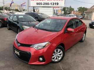 Used 2015 Toyota Corolla S Backup Camera/Bluetooth/Htd Seats/Cruise&GPS* for sale in Mississauga, ON