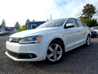 Used 2014 Volkswagen Jetta Comfrtline TDI DSG Sunroof Bluetooth Certified for sale in Guelph, ON