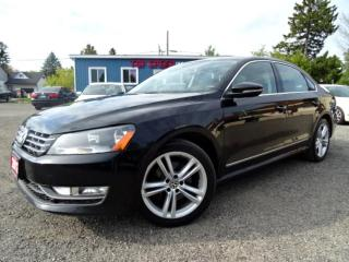 Used 2012 Volkswagen Passat Highline TDI DSG Navigation Sunroof Bluetooth Certified for sale in Guelph, ON