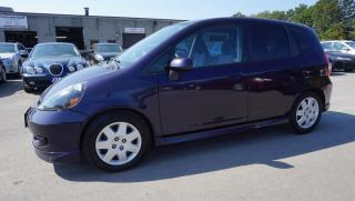 Used 2008 Honda Fit SPORT HB AUTOMATIC CERTIFIED 2YR WARRANTY CRUISE AUX POWER WINDOW for sale in Milton, ON