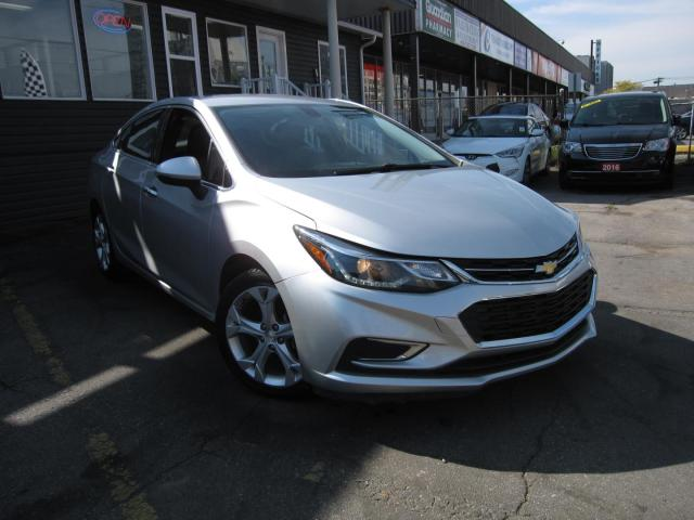 2017 Chevrolet Cruze Premier NO ACCIDENTS!!  LEATHER INTERIOR, BACK UP CAMERA, HEATED SEATS FRONT AND BACK, BLUETOOTH CONNECTIVITY