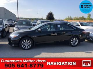 Used 2016 Toyota Camry XLE  NAV LEATH ROOF CAM HS 10-W-P/SEAT for sale in St. Catharines, ON
