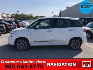 Used 2015 Fiat 500 L Lounge  NAV ROOF LEATH HS AUTO PWR-GRP for sale in St. Catharines, ON