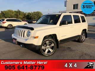 Used 2016 Jeep Patriot Sport  4X4 LEATH ROOF P/SEAT REMOTE ALLOYS for sale in St. Catharines, ON