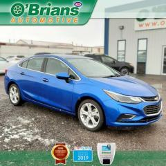 Used 2017 Chevrolet Cruze Premier w/Mfg Warranty, Backup Camera, Leather, Heated Seats for sale in Saskatoon, SK