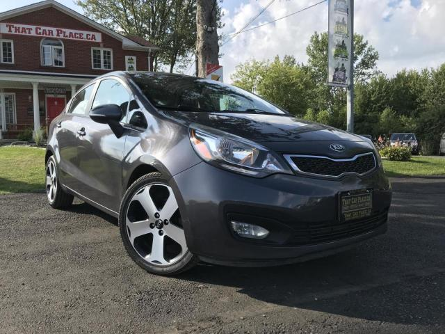 2013 Kia Rio EX Bluetooth-Alloys-Reverse Cam-Lthr-Pwr Rf-Htd St-NAV-Pwr Windows-Cruise