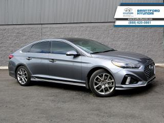 Used 2018 Hyundai Sonata 2.0L ULTIMATE | TURBO | 1-OWNER TRADE  - Local - $183 B/W for sale in Brantford, ON