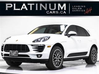 Used 2015 Porsche Macan S 340HP AWD, NAVI, PANO, CAM, Heated Cooled Seats for sale in Toronto, ON