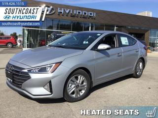 Used 2020 Hyundai Elantra Preferred w/Sun & Safety Package IVT  - $134 B/W for sale in Simcoe, ON