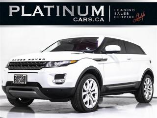 Used 2012 Land Rover Range Rover Evoque Coupe PURE DYNAMIC  PLUS, NAVI, PANO, CAM, MERIDIAN for sale in Toronto, ON