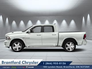 Used 2017 RAM 1500 Sport  - Bluetooth -  SiriusXM -  Fog Lamps - $232 B/W for sale in Brantford, ON