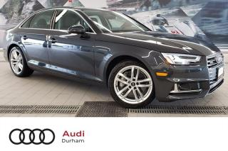 Used 2019 Audi A4 45 Technik + Nav | 360 Cam | Driver Assist for sale in Whitby, ON