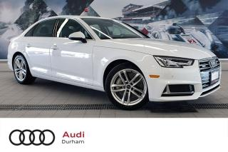 Used 2019 Audi A4 45 Technik + Virtual Cockpit   CarPlay   B & O for sale in Whitby, ON