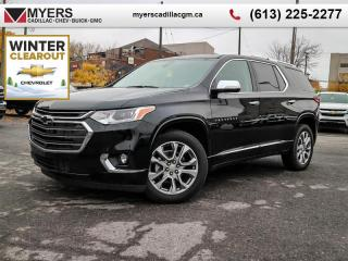 New 2020 Chevrolet Traverse Premier  - Sunroof - Navigation for sale in Ottawa, ON
