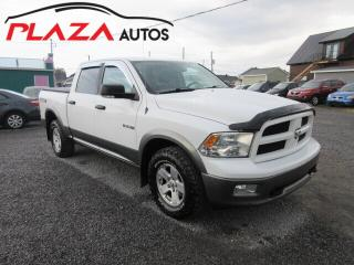 Used 2010 Dodge Ram 1500 2010 Dodge Ram 1500 - 4WD Crew Cab 140.5  TRX for sale in Beauport, QC