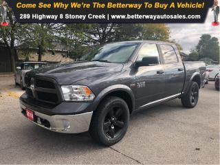 Used 2018 RAM 1500 Outdoorsman/4X4/CREWCAB/HEMI!! for sale in Stoney Creek, ON