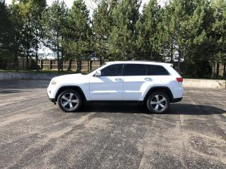 Used 2014 Jeep Grand Cherokee LIMITED 4WD for sale in Cayuga, ON