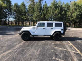 Used 2016 Jeep Wrangler Unlimited Sahara 4X4 for sale in Cayuga, ON