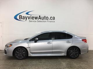 Used 2018 Subaru WRX - SUNROOF! AWD! for sale in Belleville, ON