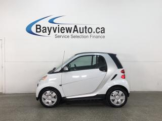 Used 2015 Smart fortwo Pure - HTD LEATHER! NAV! TOUCHSCREEN! A/C! for sale in Belleville, ON