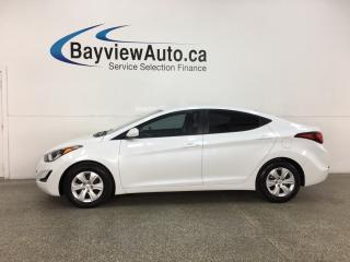 Used 2016 Hyundai Elantra L+ - AUTO! A/C! PWR GROUP! for sale in Belleville, ON