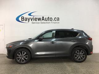 Used 2018 Mazda CX-5 GT - ONLY 13,000KMS! AWD! HTD LTHR! SUNROOF! NAV! MINT! for sale in Belleville, ON