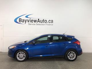 Used 2018 Ford Focus - AUTO! SYNC! HTD SEATS! ALLOYS! + MORE! for sale in Belleville, ON