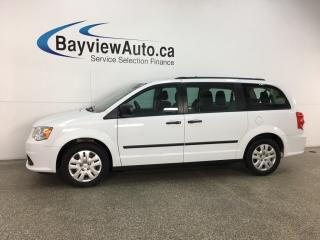 Used 2016 Dodge Grand Caravan SE/SXT - STOW 'N GO! A/C! CRUISE! FULL PWR GROUP! for sale in Belleville, ON