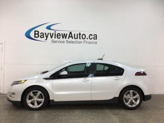 Used 2015 Chevrolet Volt - AUTO! ELECTRIC! ONSTAR! HTD SEATS! NAV! ALLOYS! for sale in Belleville, ON