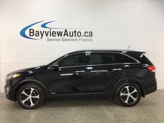 Used 2016 Kia Sorento 3.3L EX - AWD! 7PASS! PANOROOF! HTD LEATHER! ALLOYS! for sale in Belleville, ON