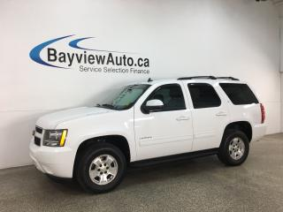 Used 2012 Chevrolet Tahoe LT - 4X4! 8PASS! HTD LEATHER! DVD! 3 ZONE CLIMATE! + MORE! for sale in Belleville, ON